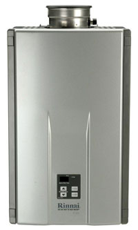 view our selection of tankless water heaters for