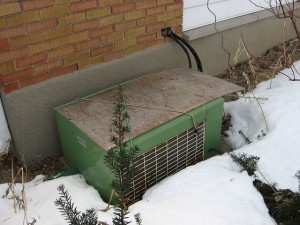 air conditioner in winter