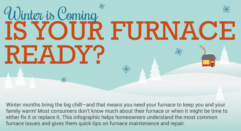 Is Your Furnace Ready For Winter Infographic