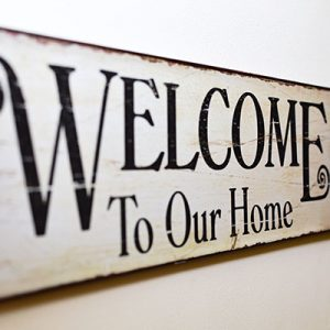 welcome-to-our-home-sign