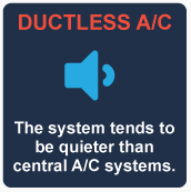Ductless AC benefits
