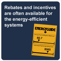 Energy Efficient System Rebates and Incentives
