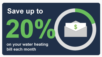 Save-up-to-20-percent-water-heating-bill-pie-chart