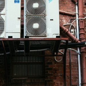 External view of air conditioner units